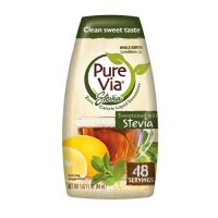 Pure Via Stevia Zero Calorie Liquid Sweetener 1.62 oz BTL product image