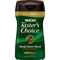 Nescafe Tasters Choice Instant Coffee Decaffeinated House Blend 7oz Jar product image