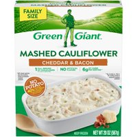 Green Giant Mashed Cauliflower Cheddar & Bacon Family Size 20oz product image