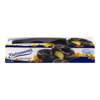 Entenmann's Chocolate Rich Frosted Donuts 8CT 15oz Box product image