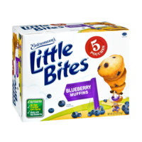 Entenmann's Little Bites Muffins Blueberry 5PK 8.25oz Box product image