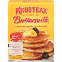 Krusteaz Buttermilk Heart Healthy Complete Pancake Mix 25.2oz Box product image
