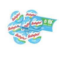 Babybel Light Mini Semisoft Cheeses 6CT 4.5oz product image