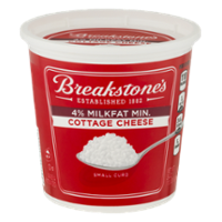 Breakstone's Cottage Cheese 4% Small Curd 24oz Tub product image