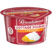 Breakstone's Cottage Cheese Doubles Peach 4.7oz product image