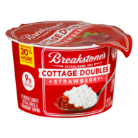 Breakstone's Cottage Cheese Doubles Strawberry 4.7oz product image