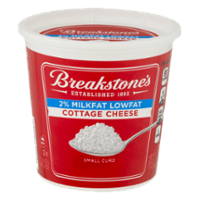 Breakstone's Cottage Cheese Lowfat 2% Milkfat Small Curd 24oz Tub product image