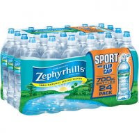 Zephyrhills Spring Water 24 Pack of 23.7oz Sports Bottles product image