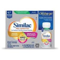 Similac Sensitive Infant Formula Ready To Feed with Iron for Fussiness & Gas 6PK of 8oz BTLS product image