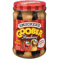 Smucker's Goober Peanut Butter and Strawberry Jelly 18oz Jar product image