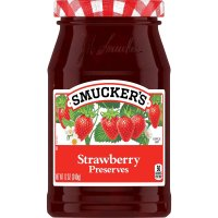 Smucker's Preserves Strawberry 12oz Jar product image