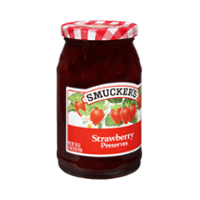 Smucker's Preserves Strawberry 18oz Jar product image