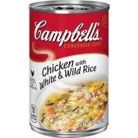Campbell's Condensed Soup Chicken with White & Wild Rice 10.5oz Can product image