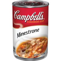 Campbell's Condensed Soup Minestrone 10.5oz Can product image