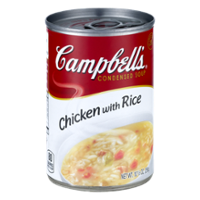 Campbell's Condensed Soup Chicken with Rice 10.5oz Can product image