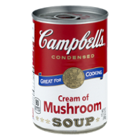 Campbell's Condensed Soup Cream of Mushroom 10.7oz Can product image