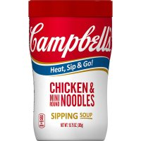 Campbell's Soup on the Go Chicken with Mini Round Noodles 10.75oz Can product image