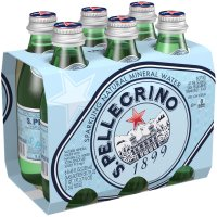 San Pellegrino Sparkling Water 6 Pack 8.45oz Bottles product image