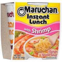 Maruchan Instant Lunch Shrimp Flavor Ramen Noodles 2.25oz PKG product image