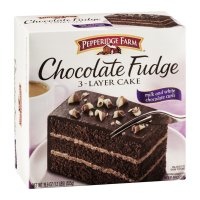 Pepperidge Farm Chocolate Fudge 3 Layer Cake 19.6oz Box product image