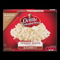 Orville Redenbacher's Microwave Popcorn Tender White 6CT 18.37oz PKG product image