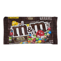 M&M's Candies Milk Chocolate Plain 10.7oz Bag product image