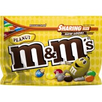 M&M's Candies Milk Chocolate with Peanuts 10.70oz Bag product image