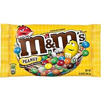M&M's Candies Milk Chocolate with Peanuts 19.2oz Bag product image