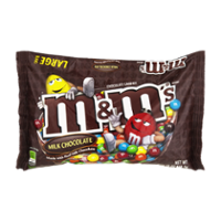 M&M's Candies Milk Chocolate Plain 19.2oz. Bag product image