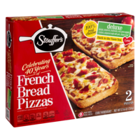 Stouffer's French Bread Pizza Deluxe 2CT 12.375oz PKG product image