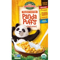 Nature's Path EnviroKidz Organic Peanut Butter Panda Puffs 10.6oz Box product image