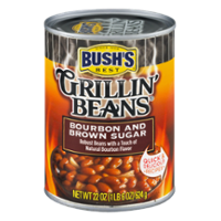 Bush's Grillin Beans Bourbon & Brown Sugar 22oz Can product image