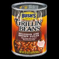 Bush's Grillin Beans Bourbon & Brown Sugar 22oz Can product image