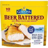 Gorton's Fish Fillets Beer Battered 18.2oz PKG product image