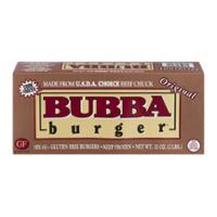 Bubba Burger Frozen Ground Chuck Patties USDA Choice 6CT 2LB Box product image
