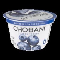 Chobani Non-Fat Greek Yogurt Blueberry 5.3oz Cup product image