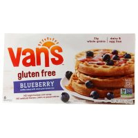 Van's Waffles Wheat Free Blueberry 9oz Box product image