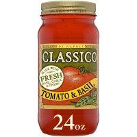 Classico Di Napoli Pasta Sauce Tomato Basil 24oz Jar product image