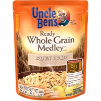 Uncle Ben's Ready Rice Whole Grain Medley Brown & Wild 8.5 oz product image