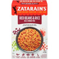 Zatarain's New Orleans Style Red Beans & Rice Dinner Mix 8oz Box product image