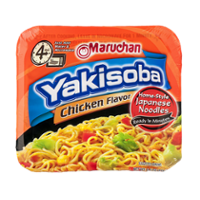 Maruchan Yakisoba Home-Style Japanese Noodles Chicken Flavor 4oz CTN product image