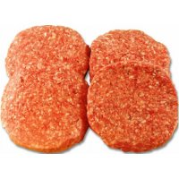 Ground Round Hamburger Patties 4PK 85% Lean 1LB PKG product image