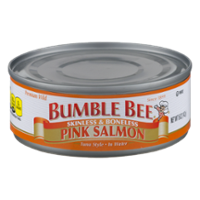 Bumble Bee Pink Salmon in Water 5oz Can product image
