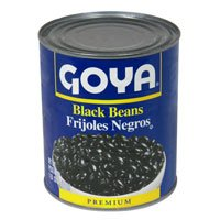 Goya Canned Black Beans 15.5oz product image