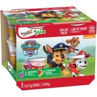 Yoplait Kids Raspberry/Strawberry Banana Low Fat Yogurt 4oz EA 8CT PKG product image