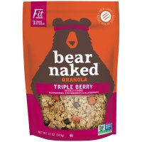 Bear Naked All Natural Granola Triple Berry 12oz Bag product image