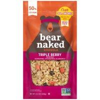 Bear Naked All Natural Granola Triple Berry 12oz Bag product image
