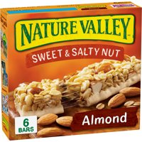 Nature Valley Sweet & Salty Nut Almond Granola Bars 6 Bars 7.4oz product image
