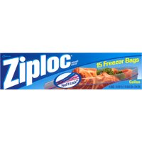 Ziploc Double Zipper Freezer Storage Bags 1 Gallon 14CT product image