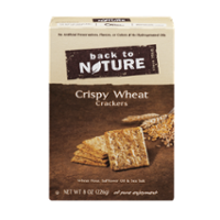 Back To Nature Crispy Wheat Crackers 8oz Box product image